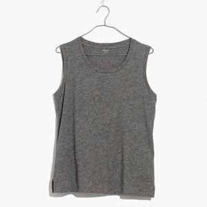[NWT] Madewell Ex-Boyfriend Muscle Tank in Gray